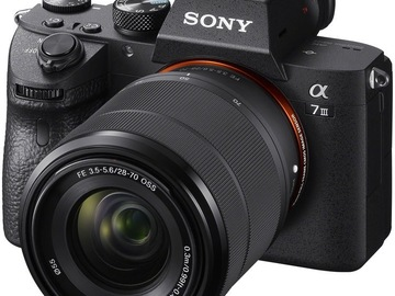 Rentals: Sony a7iii with kit Lens + 3 Batteries