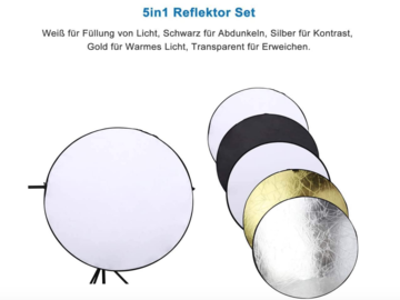 Rentals: 5in1 Reflector Set 60cm Diameter