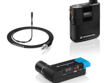 Rentals: Sennheiser AVX MKE2 Wireless  mic and receiver