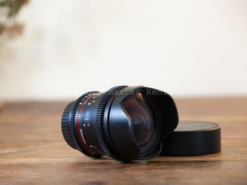 Rentals: SAMYANG 16mm Cine Prime T2.2 EF