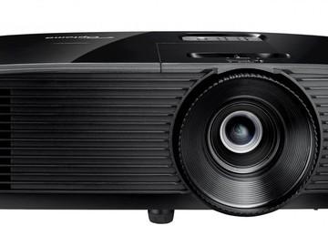 Rentals: Optoma fullHD DLP Beamer - Projector / 3800 lumen / 3D