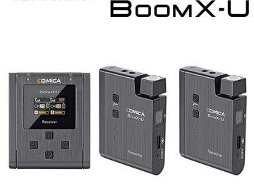 Rentals: Comica BoomX-U U2 UHF Wireless Lavalier Microphone System