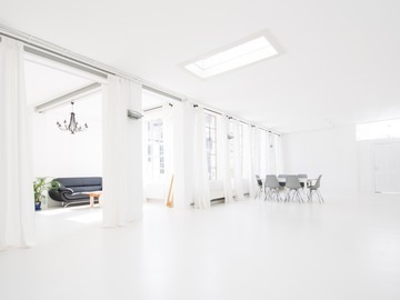 Studio/Spaces: Tageslichtstudio eli13 in Hamburg