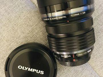 Rentals: NEU Olympus M.Zuiko Digital ED 7-14mm 2.8 PRO