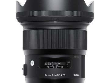 Rentals: Sigma 24mm f/1.4 DG HSM Art Canon EF