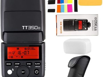 Rentals: Godox TT350o Flash Speedlight for Olympus and Panasonic