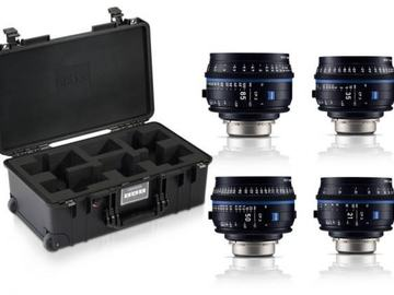 Rentals: Zeiss Compact Prime CP.3 21/35/50/85 set