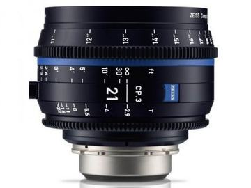 Rentals: Zeiss Compact Prime CP.3 21mm/PL