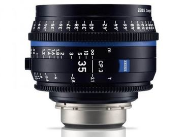 Rentals: Zeiss Compact Prime CP.3 35mm
