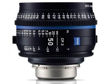 Rentals: Zeiss Compact Prime CP.3 50mm/PL