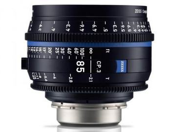 Rentals: Zeiss Compact Prime CP.3 85mm/PL