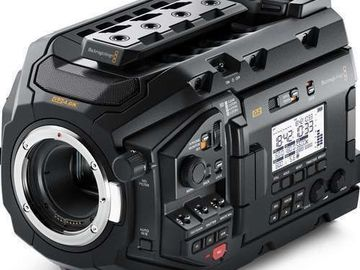 Rentals: Blackmagic URSA Mini G2 4,6K Pro (EF Mount)