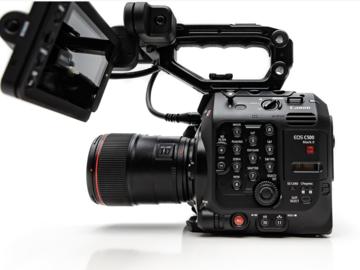 Rentals: Canon C500 Mark II
