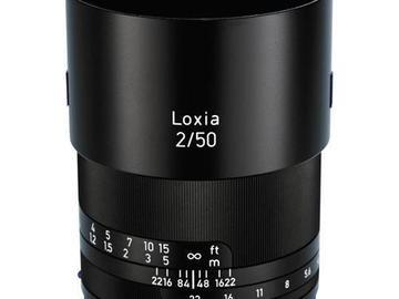Rentals: Zeiss Loxia 50mm