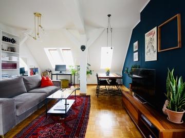 Studio / Räumlichkeiten: Charming Rooftop Apartment Charlottenburg