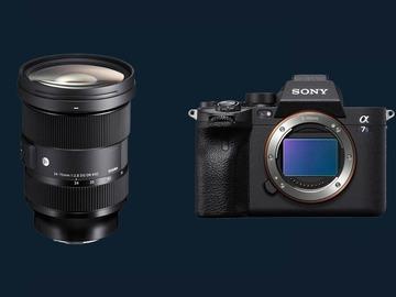 Rentals:  Sony A7S III + Sigma Art 24-70 mm F2.8 Objektiv