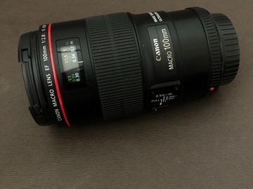 Rentals: Canon 100mm Macro f.2,8