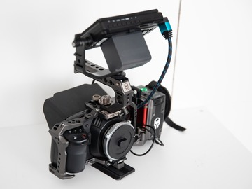 Rentals: Blackmagic Pocket 4k Cine Kit / 2x512gb SSD / EF / Tilta