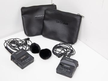 Rentals: Tascam DR-10L, independent Lavalier Mic Recorder