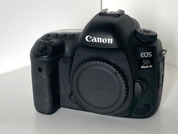 Vermieten: Canon 5D Mk4, inkl. Batteries, Charger, Bag, etc.