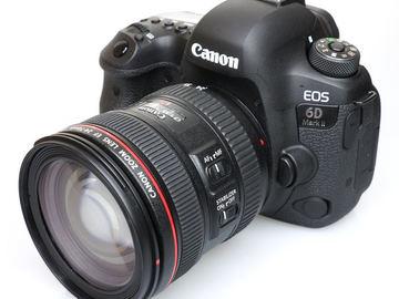 Rentals: Canon 6D Mark II + EF 24-70mm f2.8 II USM L Series Lens
