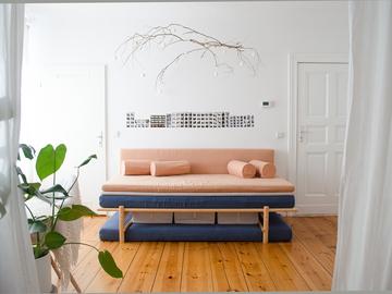 Studio/Spaces: bright and cozy apartment in Neukölln
