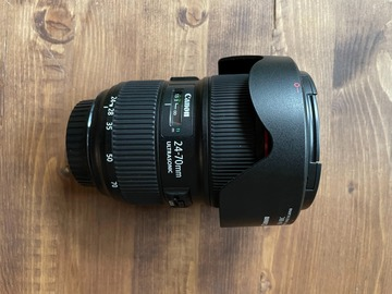 Rentals: Canon EF 24-70 mm f/2,8L II USM