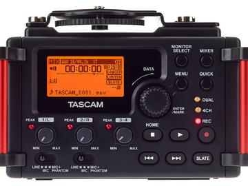 Rentals: Tascam D60 - linear PCM sound recorder for DSLR