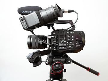 Rentals: Sony PXW-FS7 II Kit **Ready to shoot**
