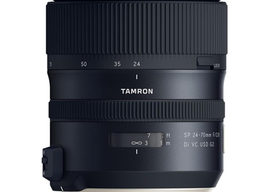 Rentals: Tamron 24-70mm F / 2.8 wide angle lens