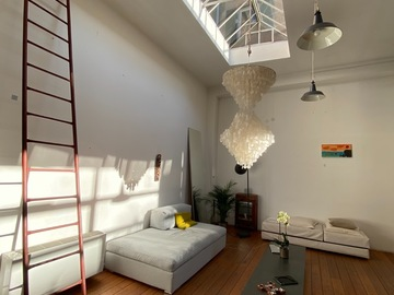 Studio/Spaces: 100 % SOLAR ECOLOGICAL LOFT with GREEN ROOF TERRACE