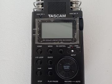 Rentals: TASCAM DR-100MK II