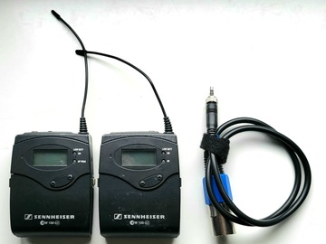 Rentals: Sennheiser G3 Wireless packs
