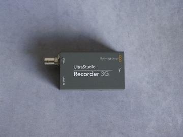 Rentals: Blackmagic UltraStudio Recorder 3G