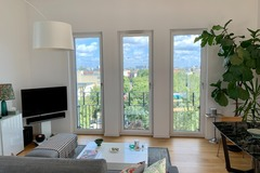 Studio/Spaces: Schöneberg modern penthouse with uninterrupted, dramatic views